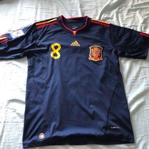 2010 Spain World Cup XAVI away jersey